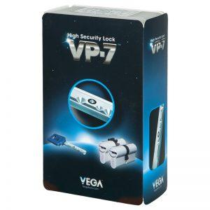 Фото 15 - Цилиндр VEGA VP-7 100 50x50 CAM30 VIP_CONTROL 1KEY+5KEY.