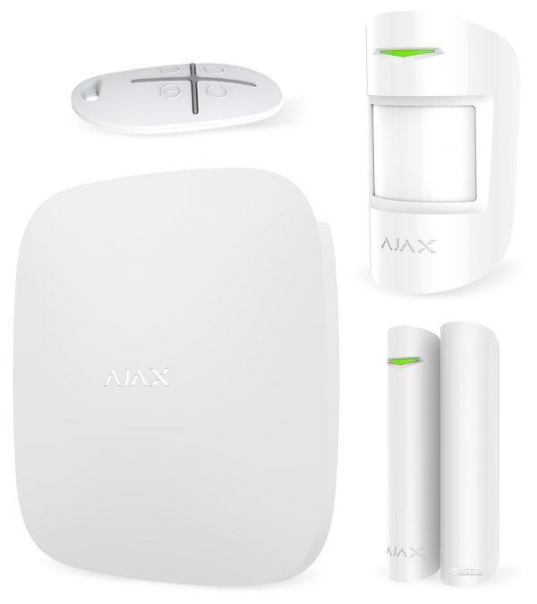 Фото 2 - Ajax StarterKit - комплект охранной сигнализации.