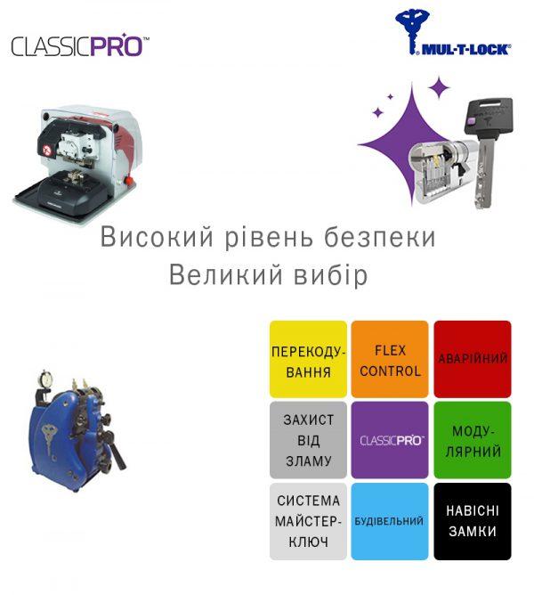 Фото 7 - Ключ MUL-T-LOCK * CLASSIC PRO.