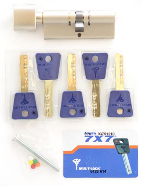 Фото 5 - Цилиндр MUL-T-LOCK DIN_KT 7x7 80 NST 45x35T TO_NST CAM30 5KEY DND77_BLUE 0767 BOX_M.