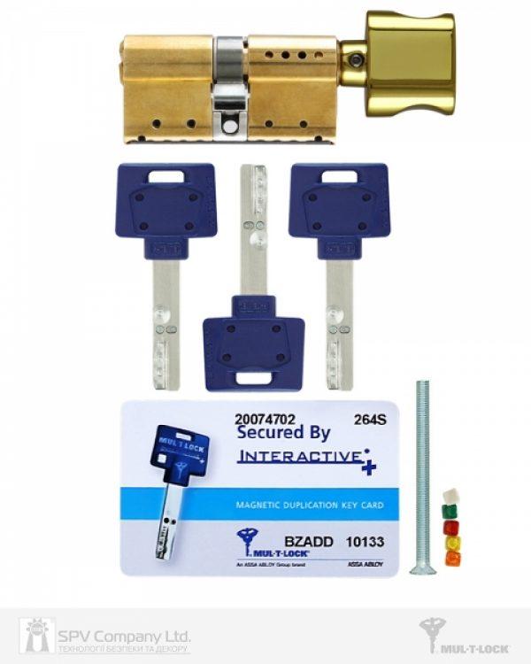 Фото 6 - Цилиндр MUL-T-LOCK DIN_MOD_KT *INTERACTIVE+ 62 EB 31x31T TO_SB CAM30 3KEY DND3D_BLUE_INS 264S+ BOX_S.