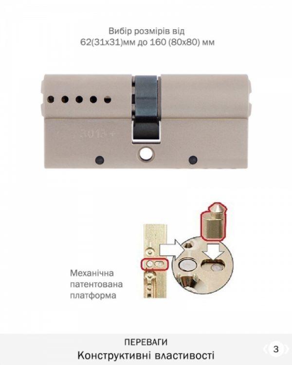 Фото 4 - Цилиндр MUL-T-LOCK DIN_KK XP *INTERACTIVE+ 90 NST 45Lx45 CAM30 FLEX_CONTROL 3KEY+1KEY+1KEY+1KEY DND3D_BLUE_INS 264S+ BOX_S.
