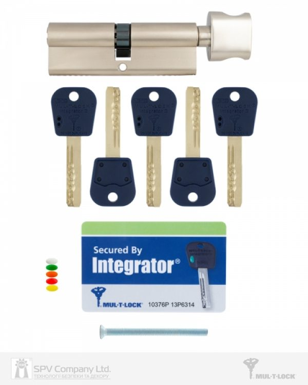 Фото 2 - Цилиндр MUL-T-LOCK DIN_KT INTEGRATOR 95 NST 45x50T TO_NC CAM30 5KEY INTGR_BLUE_INS 376P BOX_C.