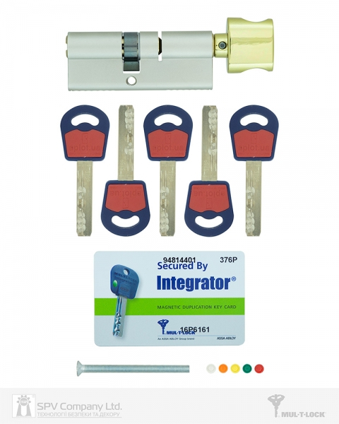 Фото 3 - Цилиндр MUL-T-LOCK DIN_KT INTEGRATOR 95 NST 45x50T TO_SB CAM30 5KEY INTGR_BLUE_INS 376P BOX_C.