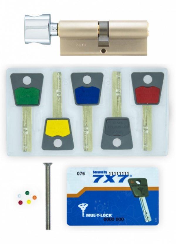Фото 5 - Цилиндр MUL-T-LOCK DIN_KT 7x7 105 NST 65x40T TO_NC CAM30 5KEY DND77_GREY_INS 0767 BOX_S.