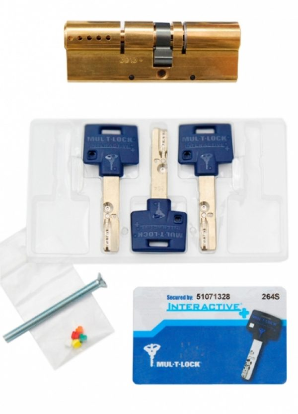 Фото 4 - Цилиндр MUL-T-LOCK DIN_KK XP *INTERACTIVE+ 54 EB 27x27 CAM30 3KEY DND3D_BLUE_INS 264S+ BOX_S.
