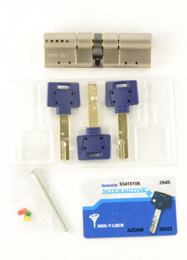 Фото 6 - Цилиндр MUL-T-LOCK DIN_MOD_KK *INTERACTIVE+ 125 NST 45x80 CAM30 3KEY DND3D_BLUE_INS 264S+ BOX_S.