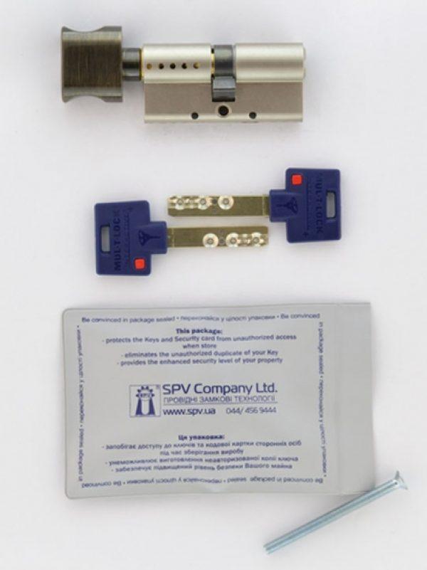 Фото 5 - Цилиндр MUL-T-LOCK DIN_KT XP *INTERACTIVE+ 105 NST 50x55T TO_ABR CAM30 VIP_CONTROL 2KEY+3KEY DND3D_BLUE_INS 264S+ BOX_S.