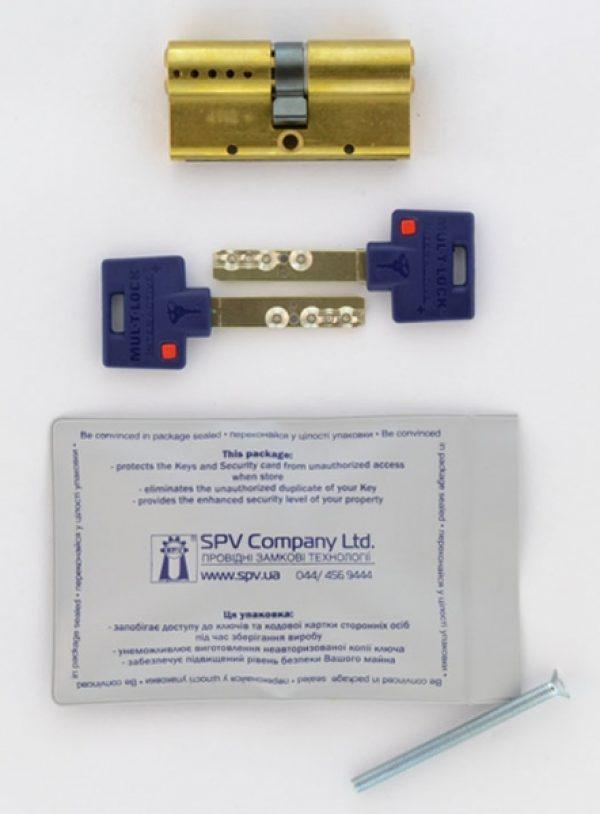 Фото 2 - Цилиндр MUL-T-LOCK DIN_KK XP *INTERACTIVE+ 80 EB 35x45 CAM30 VIP_CONTROL 2KEY+3KEY DND3D_BLUE_INS 264S+ BOX_S.