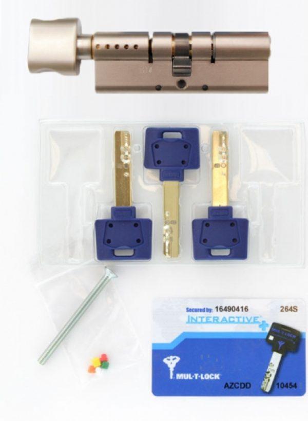 Фото 2 - Цилиндр MUL-T-LOCK DIN_KT XP *INTERACTIVE+ 85 NST 45x40T TO_NST CAM30 3KEY DND3D_BLUE_INS 264S+ BOX_S.