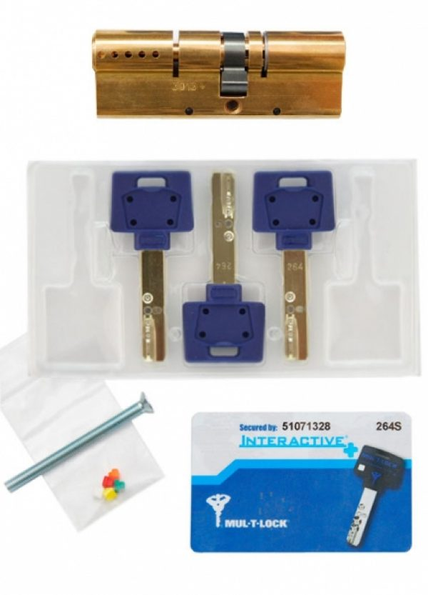 Фото 6 - Цилиндр MUL-T-LOCK DIN_KK XP *INTERACTIVE+ 92 EB 27x65 CAM30 3KEY DND3D_BLUE_INS 264S+ BOX_S.