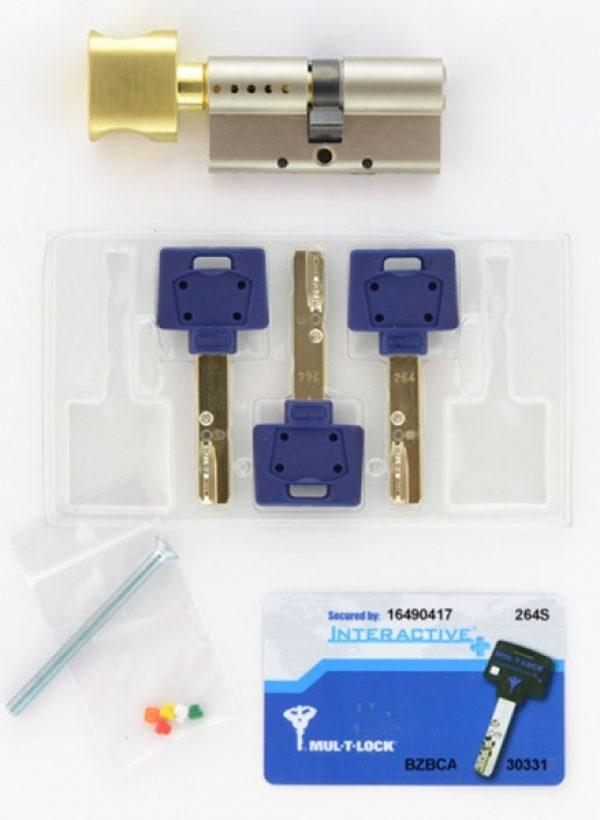 Фото 3 - Цилиндр MUL-T-LOCK DIN_KT XP *INTERACTIVE+ 90 NST 40x50T TO_SBM CAM30 3KEY DND3D_BLUE_INS 264S+ BOX_S.