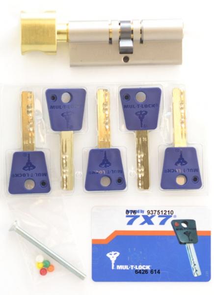 Фото 4 - Цилиндр MUL-T-LOCK DIN_KT 7x7 95 NST 60x35T TO_SB CAM30 5KEY DND77_BLUE 0767 BOX_M.