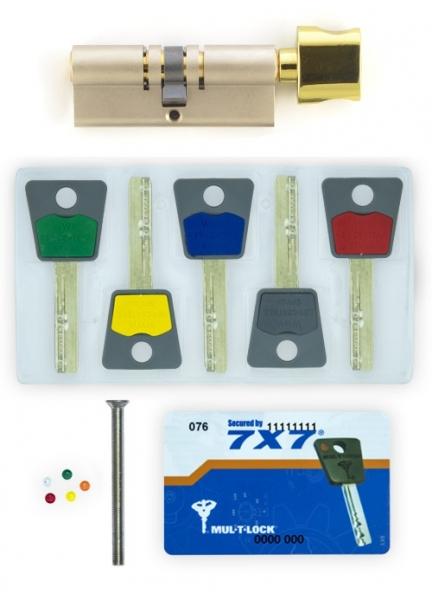 Фото 2 - Цилиндр MUL-T-LOCK DIN_KT 7x7 85 NST 50x35T TO_SB CAM30 5KEY DND77_GREY_INS 0767 BOX_M.