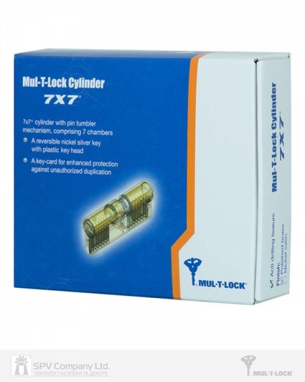 Фото 2 - Цилиндр MUL-T-LOCK DIN_KT 7x7 100 EB 55x45T TS_SB CAM30 5KEY DND77_BLACK 0767 BOX_M.