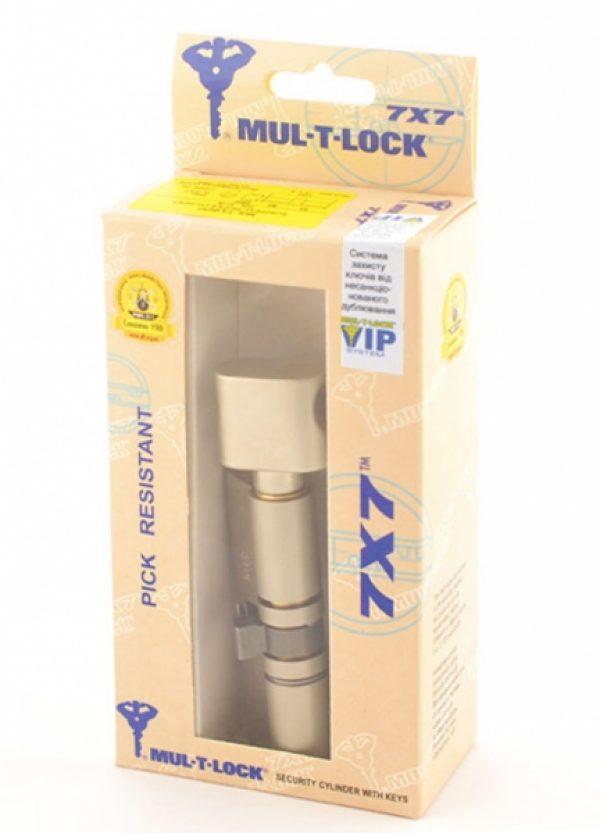 Фото 2 - Цилиндр MUL-T-LOCK DIN_KT 7x7 120 NST 60x60T TO_NST CAM30 VIP_CONTROL 2KEY+3KEY DND77_GREY_INS 0767 BOX_S.
