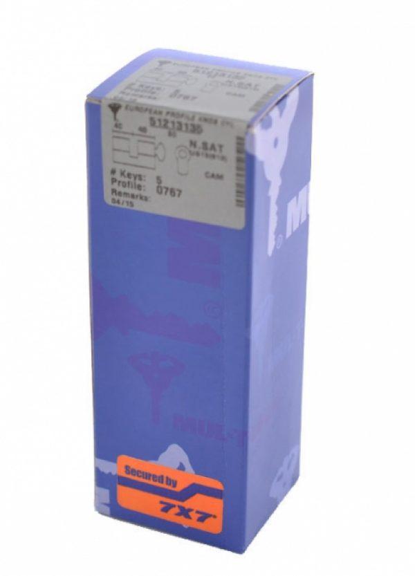 Фото 2 - Цилиндр MUL-T-LOCK DIN_KT 7x7 95 NST 55x40T TO_SB CAM30 5KEY DND77_BLUE 0767 BOX_M.