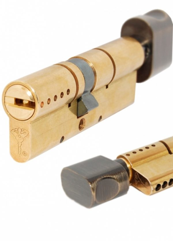 Фото 1 - Цилиндр MUL-T-LOCK DIN_KT XP *INTERACTIVE+ 90 EB 40x50T TO_ABR CAM30 VIP_CONTROL 2KEY+3KEY DND3D_BLUE_INS 264S+ BOX_S.