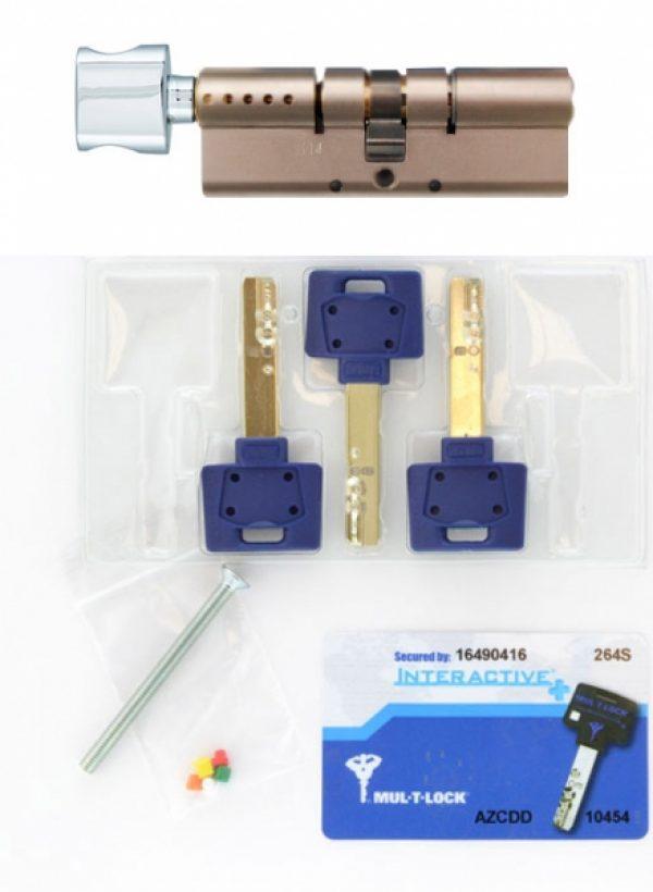 Фото 2 - Цилиндр MUL-T-LOCK DIN_KT XP *INTERACTIVE+ 66 NST 33x33T TO_NC CAM30 3KEY DND3D_BLUE_INS 264S+ BOX_S.