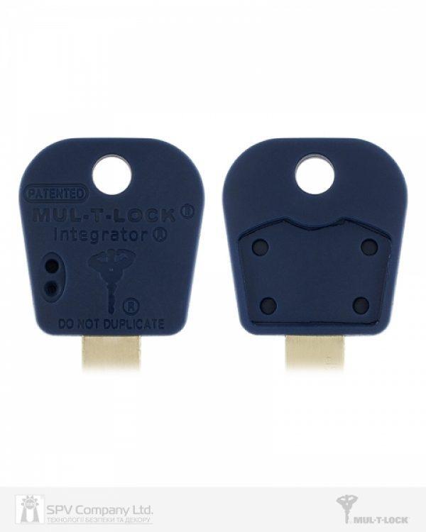 Фото 2 - Цилиндр MUL-T-LOCK DIN_KT INTEGRATOR 100 NST 45x55T TO_BE CAM30 5KEY INTGR_BLUE_INS 376P BOX_C.