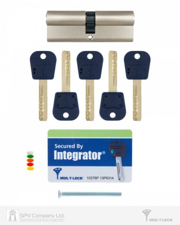 Фото 2 - Цилиндр MUL-T-LOCK DIN_KK INTEGRATOR 105 NST 40x65 CAM30 5KEY INTGR_BLUE_INS 376P BOX_C.