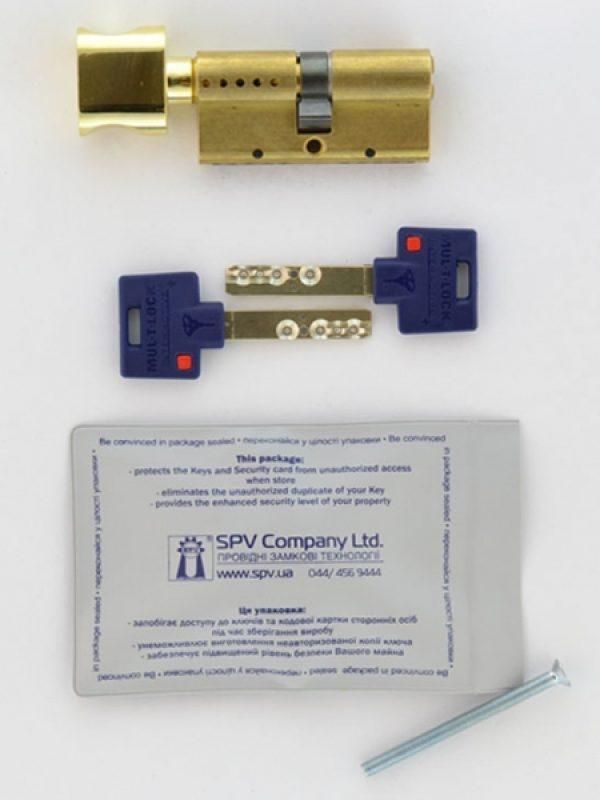 Фото 2 - Цилиндр MUL-T-LOCK DIN_KT XP *INTERACTIVE+ 90 EB 40x50T TO_SB CAM30 VIP_CONTROL 2KEY+3KEY DND3D_BLUE_INS 264S+ BOX_S.