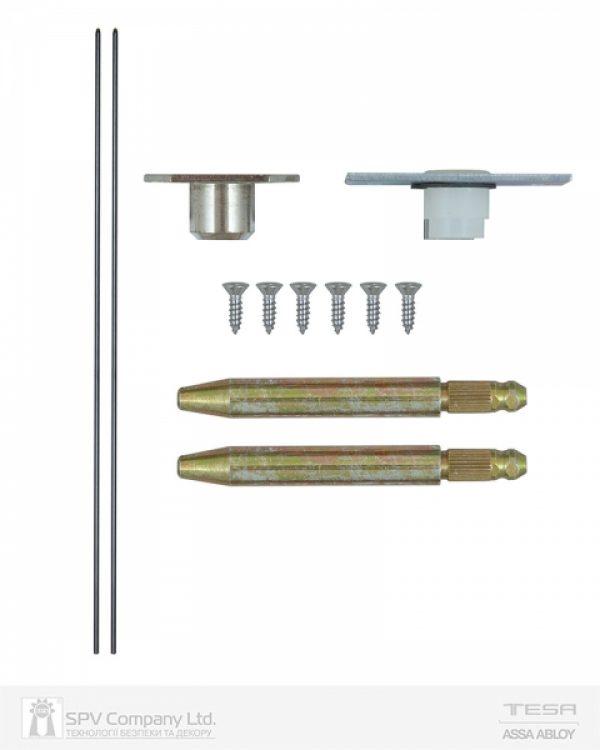 Фото 3 - Комплект тяг TESA врезной BARVECF32 (верхняя и нижняя) к замку CF320SR9Z.
