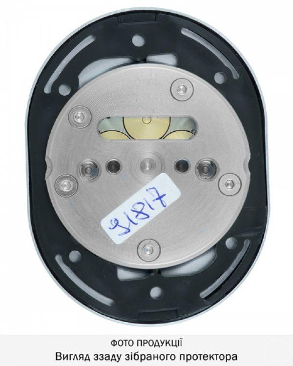 Фото 12 - Протектор DISEC MAGNETIC 3G 3GDM LEVER KEY OVAL 15мм Хром мат 3клас T 5KEY KM0P3G Внешний.