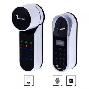 Фото 12 - Электронный контроллер MUL-T-LOCK ENTR белый с Fingerprint доступ по отпечаткам пальца + код.