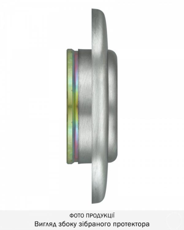 Фото 6 - Протектор DISEC CONTRO CD2000 DIN OVAL 21мм Нерж.сталь мат 3клас IT Внутренний, не регулируемый.