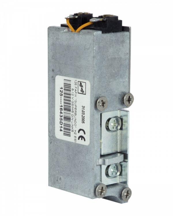 Фото 9 - Защелка электромеханическая EFF EFF 125 -D14 FaFix (W/O SP 6-12V AC/DC L) НЗ А для багатоспрямованих замков MTL.