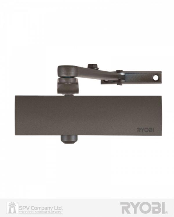 Фото 1 - Доводчик накладной RYOBI 1200 D-1200 METALLIC BRONZE STD ARM EN 2/3/4 80кг 1100мм.