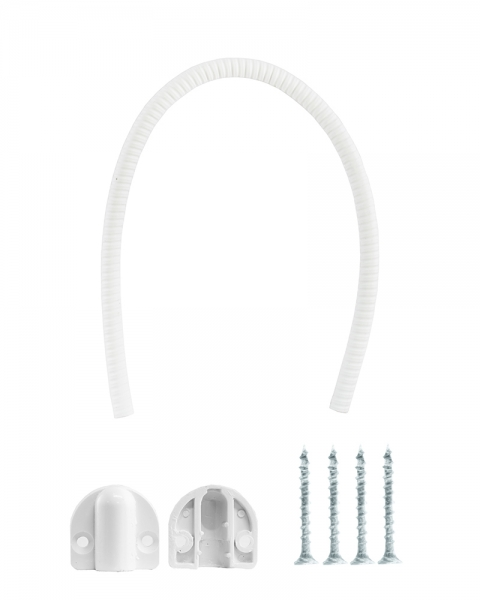 Фото 2 - Кабелепрохід СПВ ПМ-2 накладной гибкий 500мм белый.