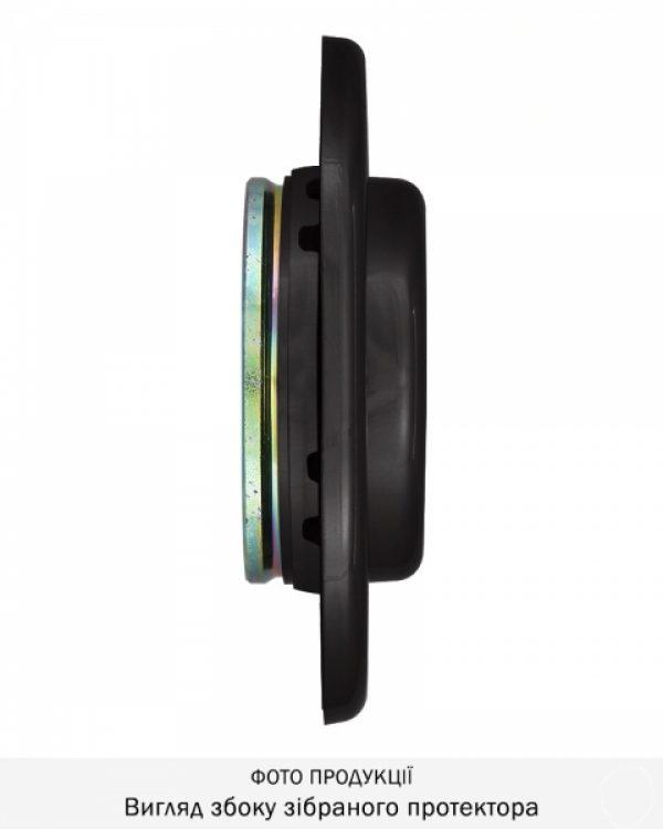 Фото 6 - Протектор DISEC CONTRO CD2000 DIN OVAL 21мм Фарба чорна 3клас N Внутренний, не регулируемый.
