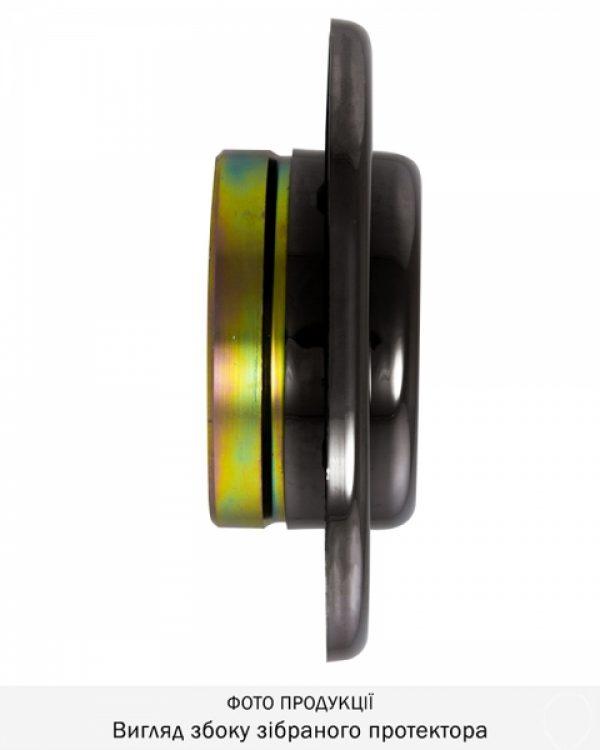 Фото 11 - Протектор DISEC SFERIK BDS16/4 DIN OVAL 25мм Хром чорний 3клас 8 Комплект.