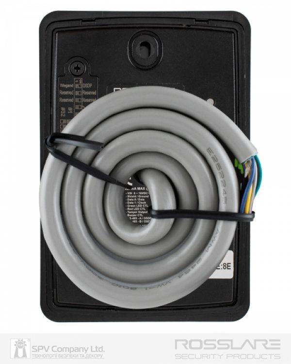 Фото 8 - Электронный считыватель ROSSLARE AY-H6355BT внешний код+карта MIFARE DESFIRE EV1 13.56Mhz and NFC BLE ID.