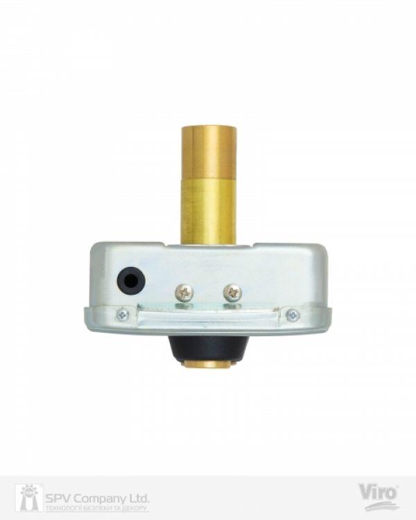 Фото 4 - Замок электромеханический VIRO V9083.0794P BS50/80мм T1/T2 12VAC NC CYL 3KEY GATE накладной, с кнопкой SS открывание внутрь.