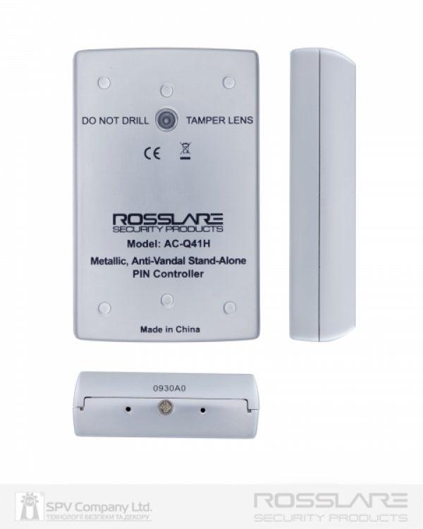Фото 3 - Электронный контроллер ROSSLARE AC-Q41H автономный антивандальный внешний код.