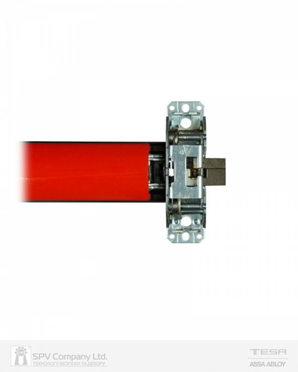 Фото 4 - Замок TESA для эвакуационного выхода накладной QUICK1S NR N: black (RAL 9005)/R: red (RAL 3000) 1 Locking 900мм 8мм.