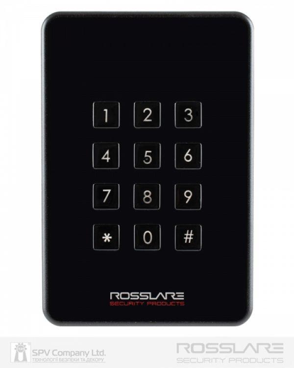 Фото 7 - Электронный считыватель ROSSLARE AY-H6355BT внешний код+карта MIFARE DESFIRE EV1 13.56Mhz and NFC BLE ID.