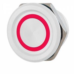 Фото 30 - Кнопка выхода ROSSLARE PX-33W наружная пьезо белая.