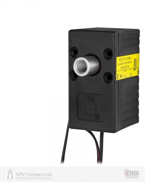 Фото 1 - Замок электромеханический ERBI INT 7 VO MI UNIV SOL 12VDC для шкафов датчики положения ригеля, без ридера и контроллера.