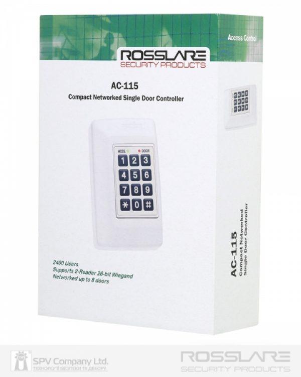 Фото 3 - Электронный контроллер ROSSLARE AC-115 внутренний сетевой.