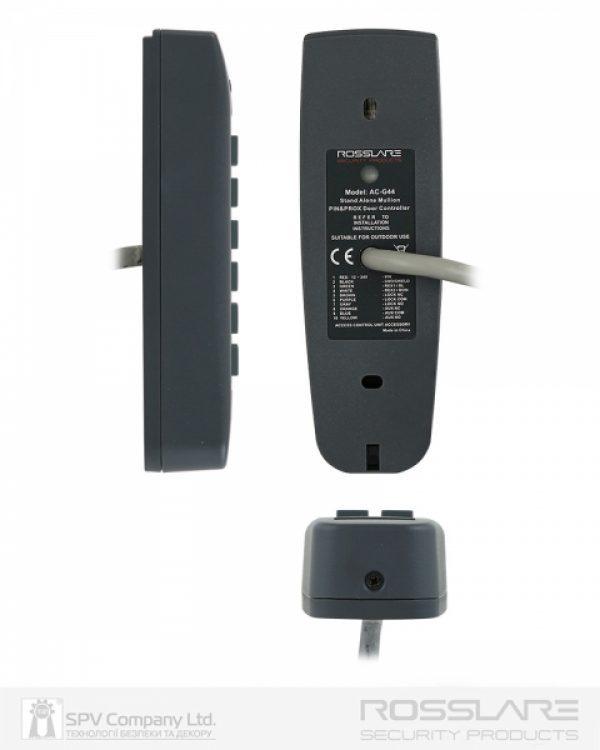 Фото 3 - Электронный контроллер ROSSLARE AC-G44 автономный внешний код+карта EM-MARINE 125Khz.