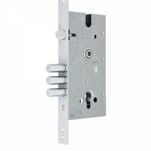 Фото 8 - Замок врезной MUL-T-LOCK 1-WAY DIN 354M NC UNIV ВЅ60мм 85мм w/o SP.