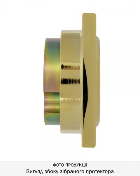 Фото 3 - Протектор DISEC MONOLITO SFERIK BD200 DIN SQUARE 25мм Латунь PVD 3клас 2 Внешний.