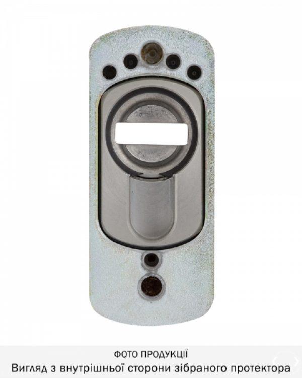 Фото 4 - Протектор DISEC GUARD SG16 DIN FOR WINDOW OVAL 25мм Хром мат 3клас T Комплект.