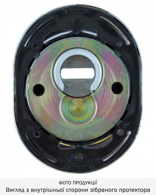 Фото 7 - Протектор DISEC SFERIK BDS16/4 DIN OVAL 25мм Хром полірований 3клас C Комплект.