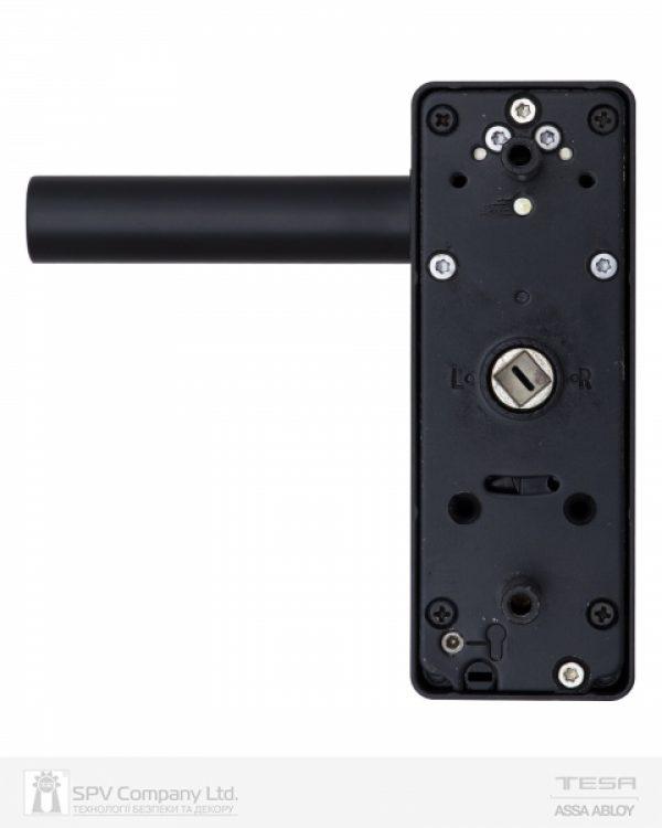 Фото 9 - Ручка TESA внешняя накладной MODULAR VECTOR (PZ with TE5 CYL) N N: black (RAL 9005) 8мм.