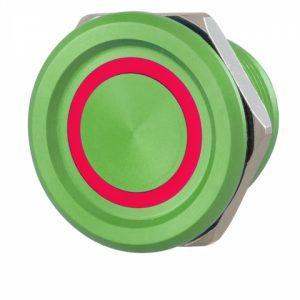 Фото 15 - Кнопка выхода ROSSLARE PX-33M наружная пьезо зеленая, с подсветкой.